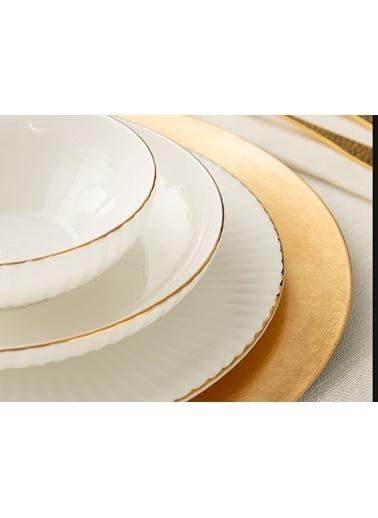 Madame Coco Amelie 16 Parça Yemek Takımı - Gold Altın